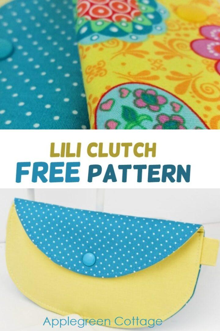 Clutch Purse Pattern - Free Pattern