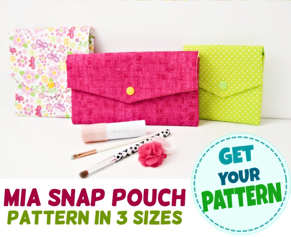 snap pouch pattern