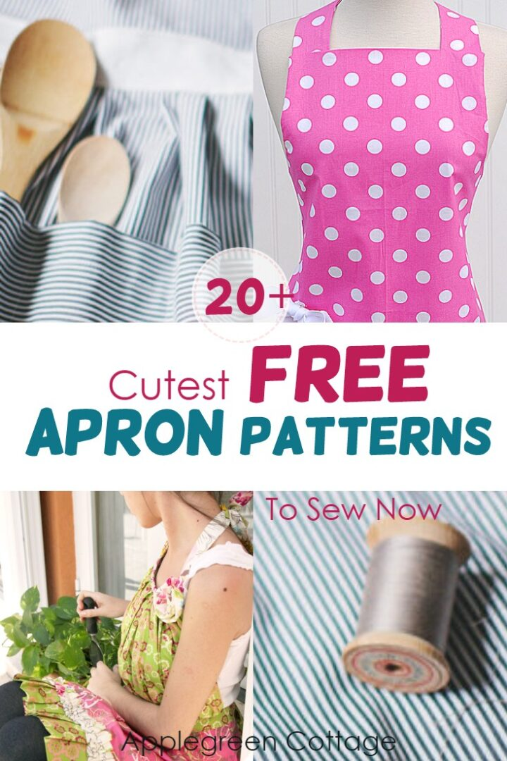 20+ Free Apron Patterns