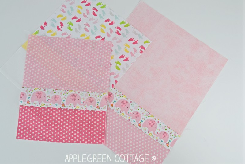 easy bib pattern pieces to sew