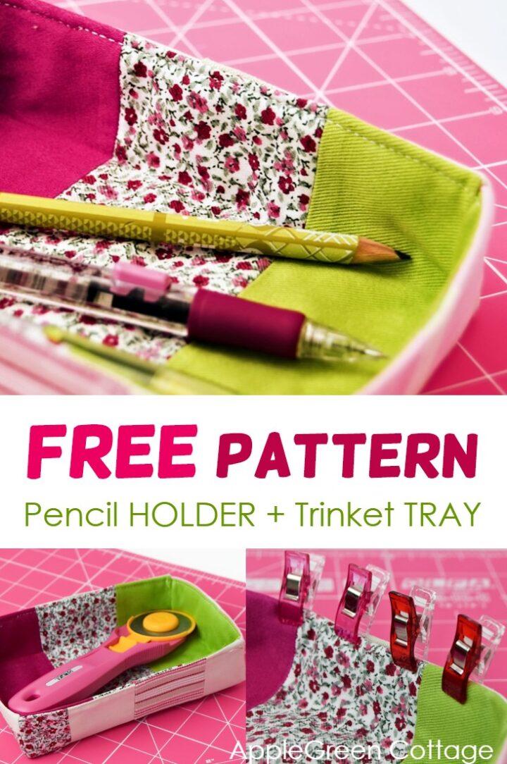 Pencil Holder Diy - Free Pattern
