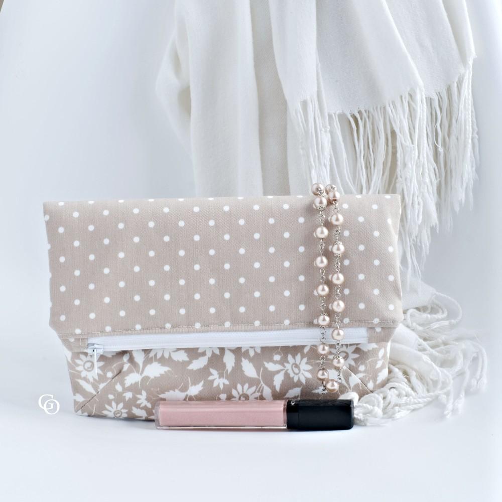 diy crossbody foldover purse for wedding