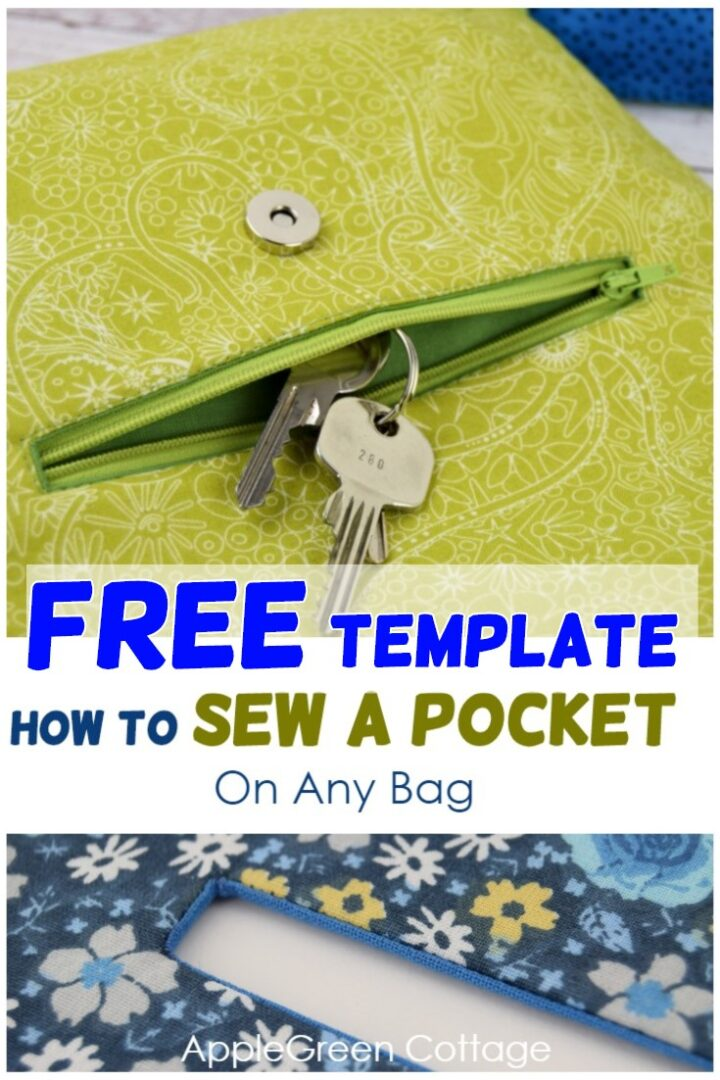 How To Sew A Pocket On Any Bag