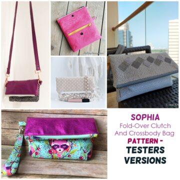 crossbody foldover purse pattern