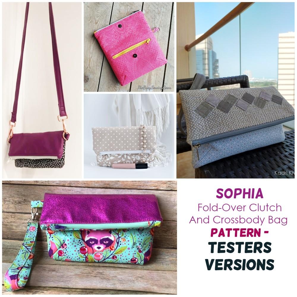 crossbody foldover purse
