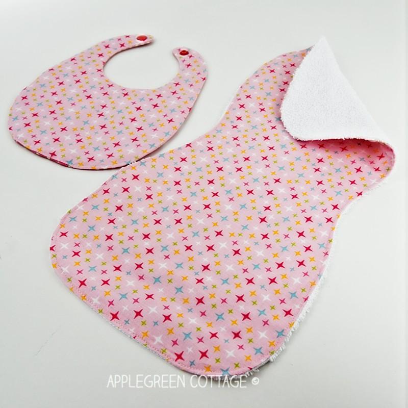free burp cloth pattern