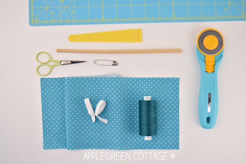 how to sew a scrunchie