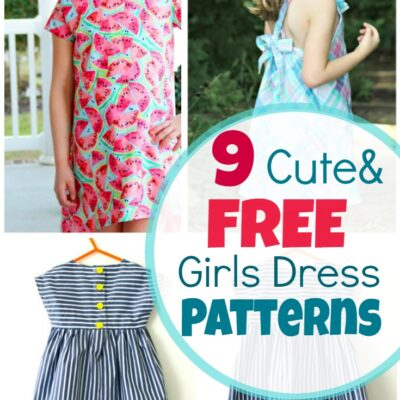 Girls dress patterns