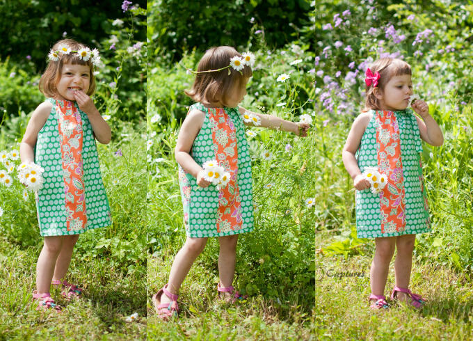 free patterns for girl dress