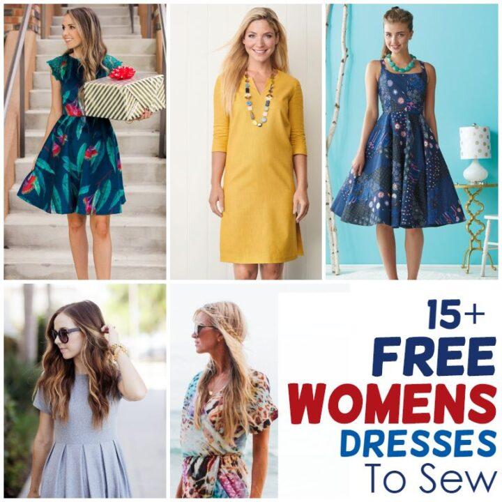 womens dress patterns