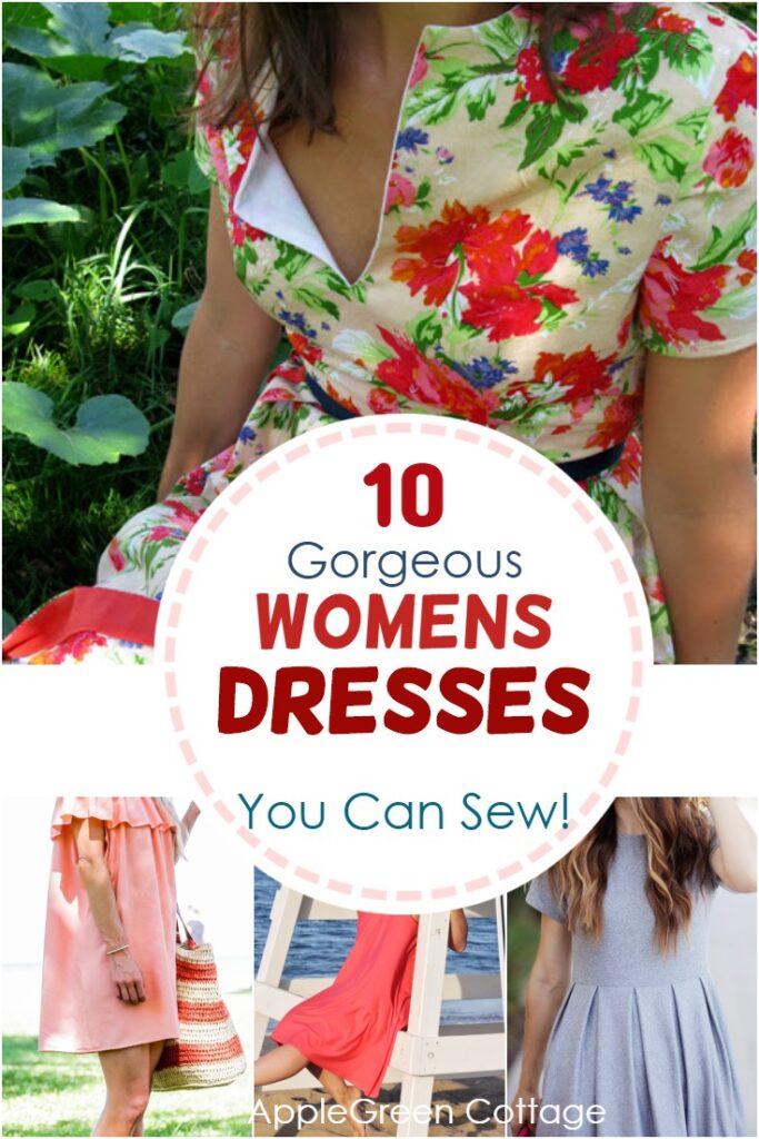 free womens dress patterns
