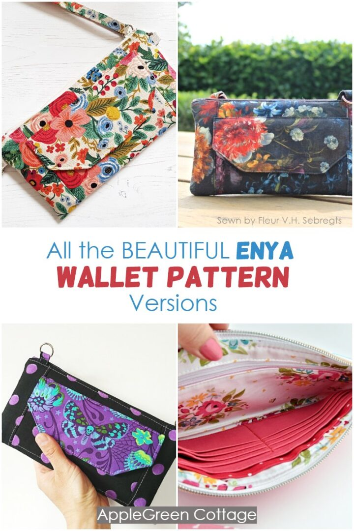 Diy Wallet - Enya Wallet Pattern Versions