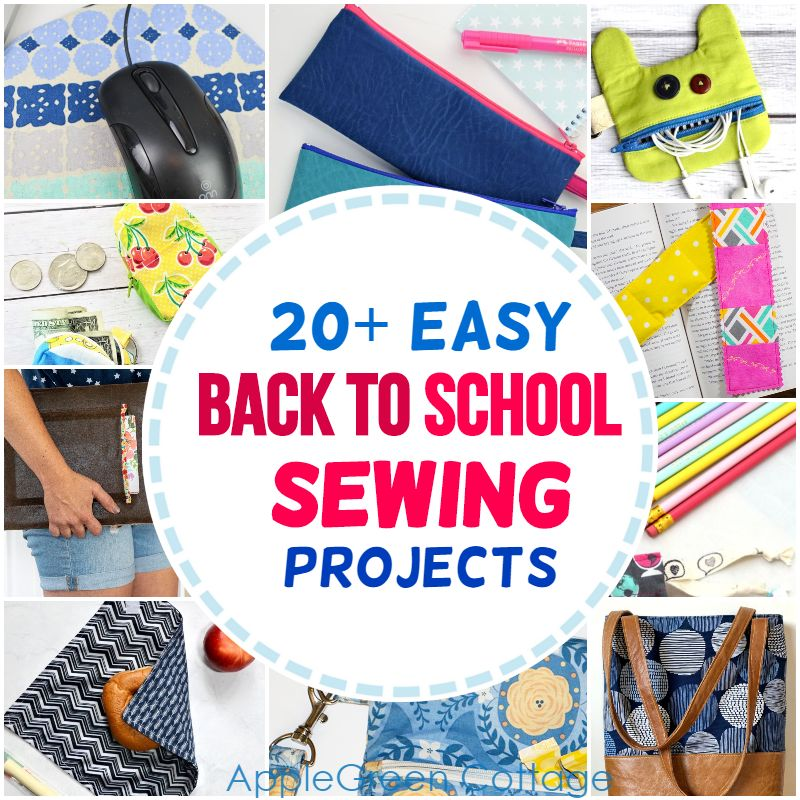 back to school sewing projects