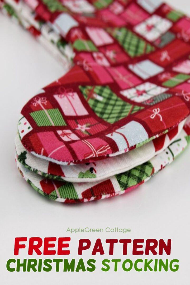 Christmas Stocking Pattern - Free Pattern