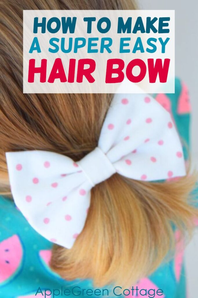 how to make bows for hair