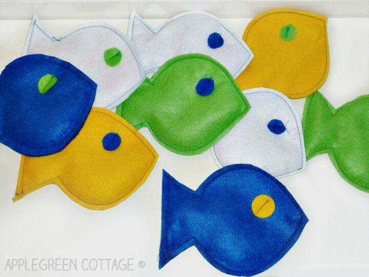 fish sewing project