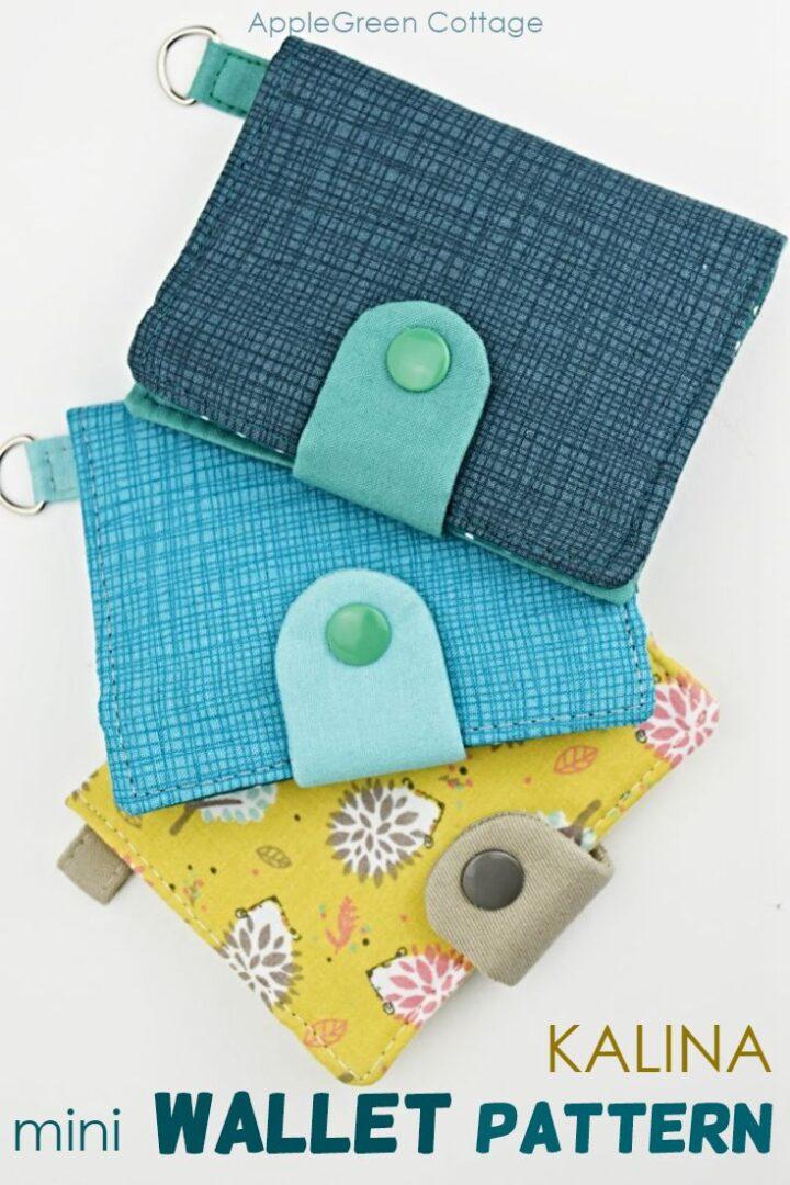 Wallet Sewing Pattern - Kalina Mini