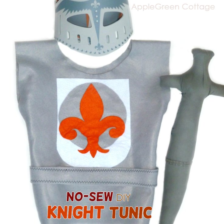 Easy DIY Knight Costume (No-Sew Tutorial)