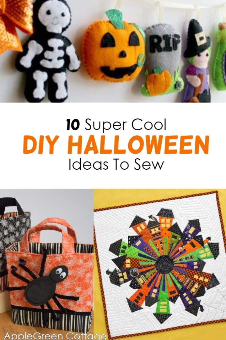 10 Super Cool Halloween Sewing Projects