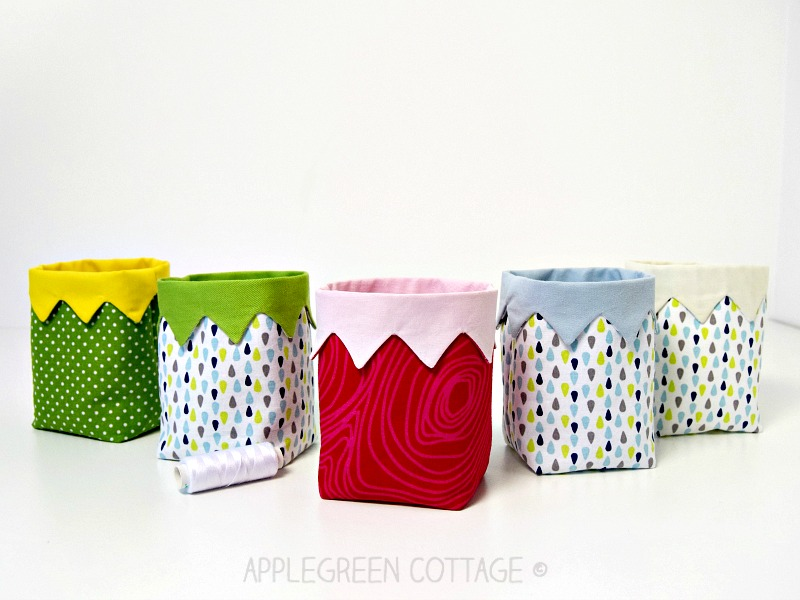 small fabric bin pattern