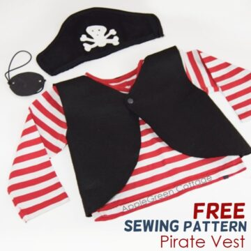 free pirate costume pattern