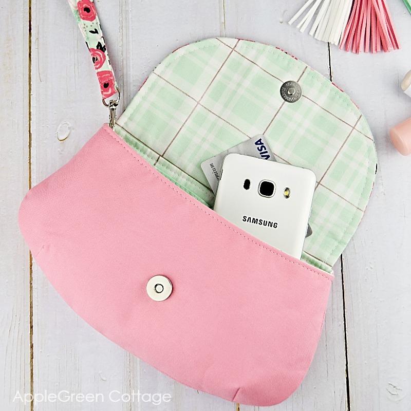 purse pattern for wedding clutch