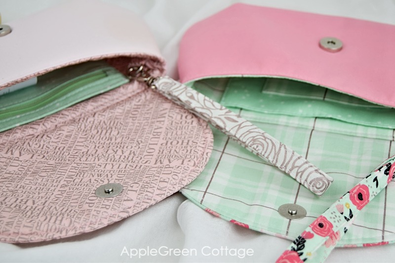 sewing pattern purse with pockets