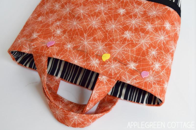 diy trick or treat bag pattern