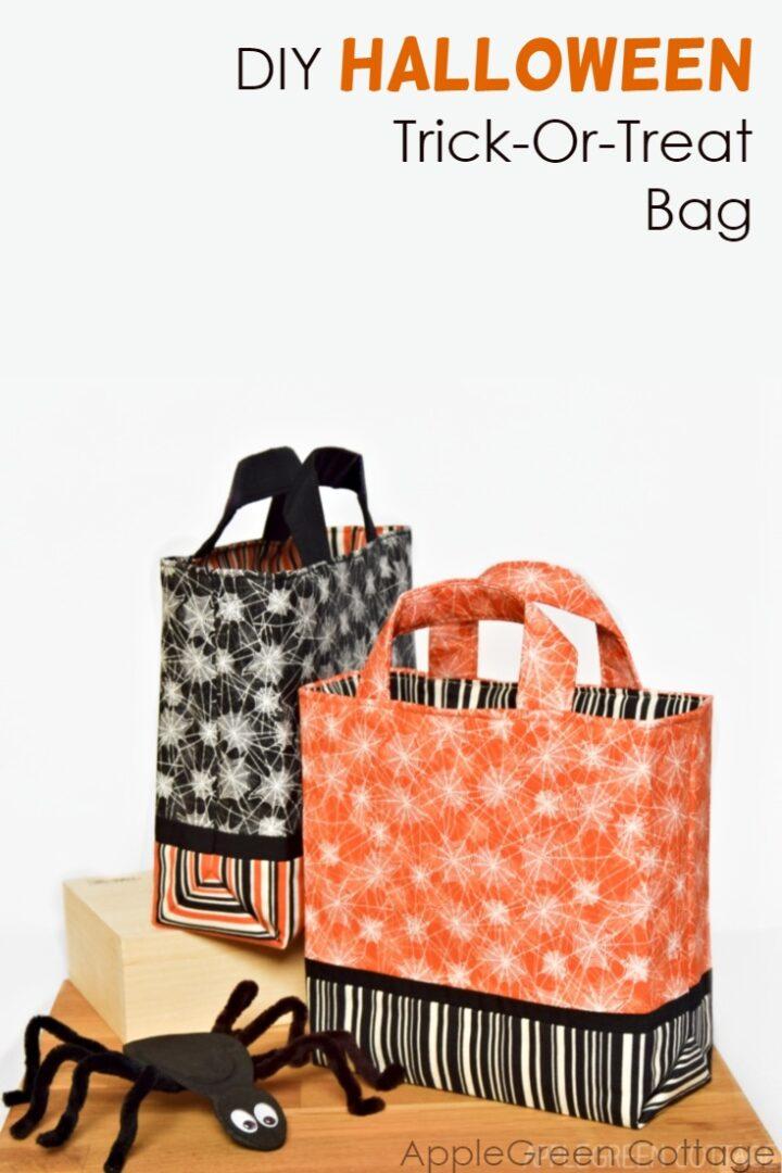 Halloween Diy Trick Or Treat Bag