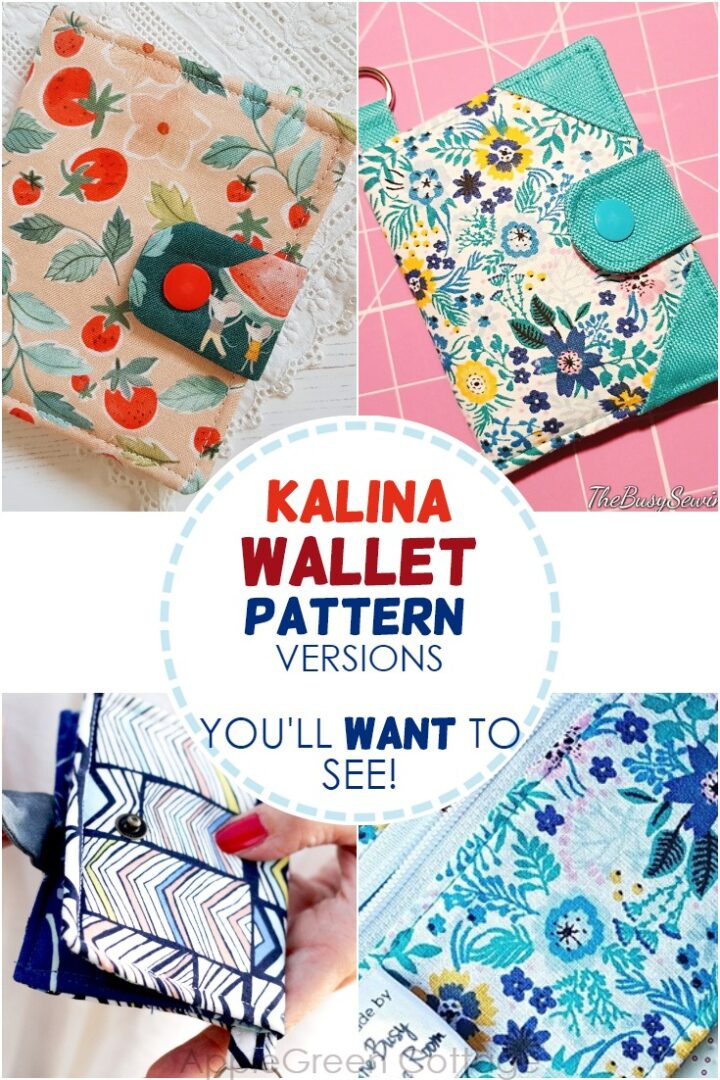 Bifold Wallet Pattern - The 11 Cutest Kalina Testers Versions