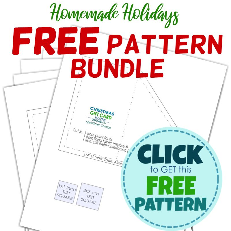 free christmas patterns