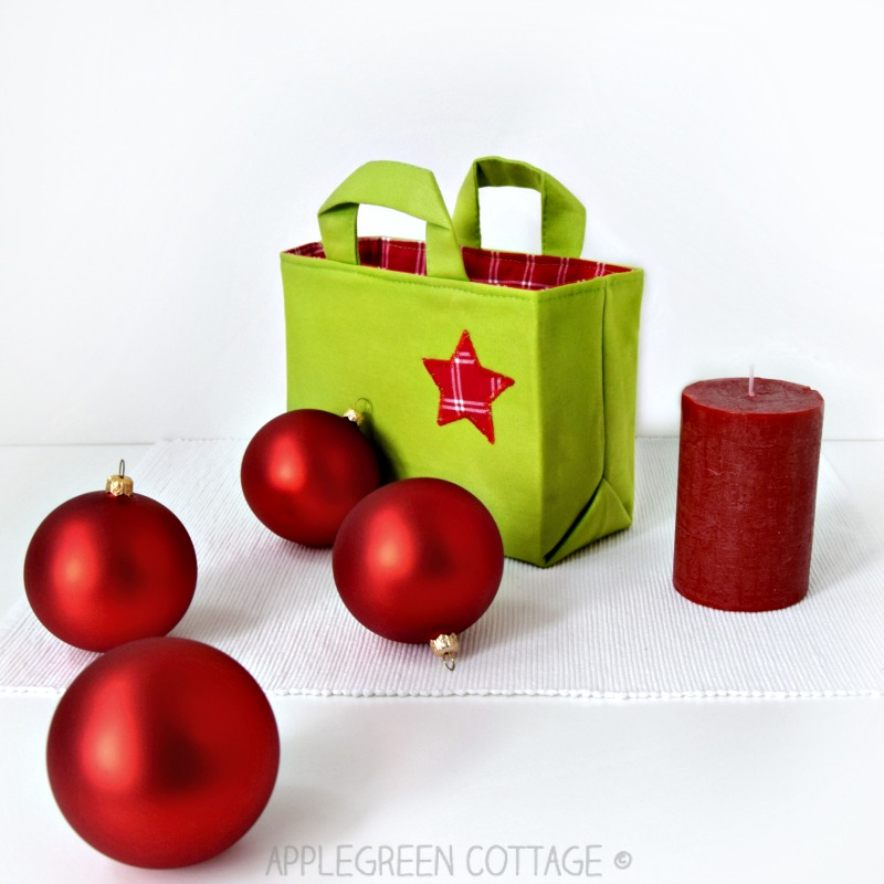 Gift Bag Pattern – Perfect for Christmas Sewing!