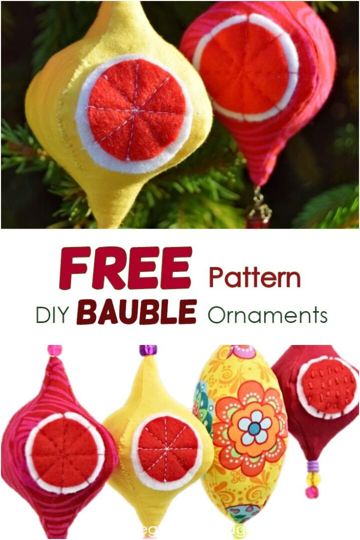 Diy Christmas Ornament - Baubles And Finials
