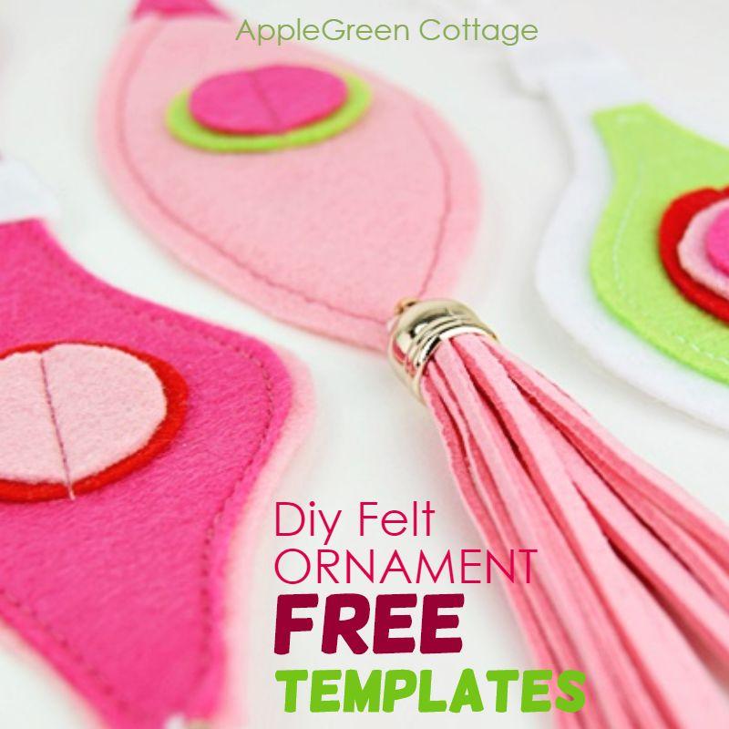 diy felt ornament