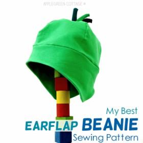 My Best Earflap BEANIE Hat Pattern