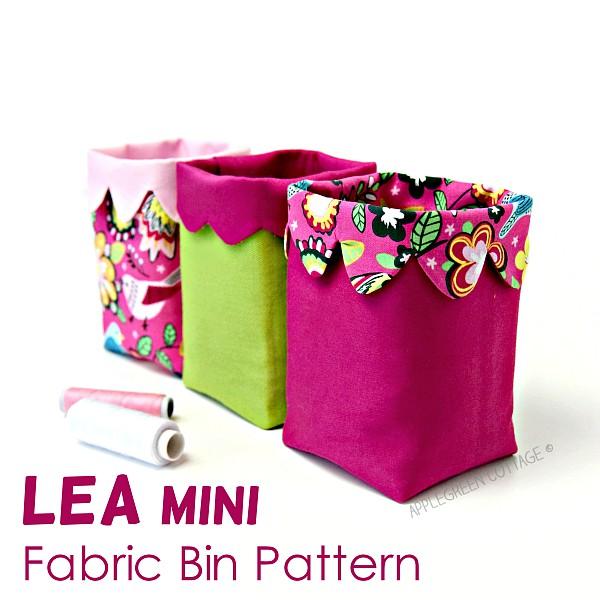 small bin pattern in pattern shop
