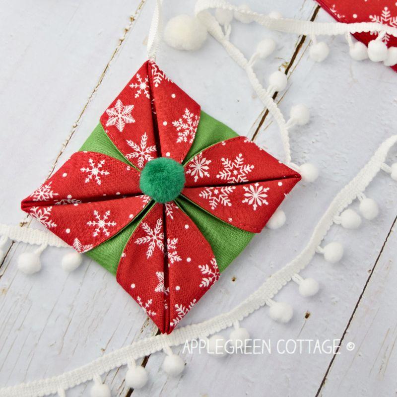 Origami Christmas ornaments
