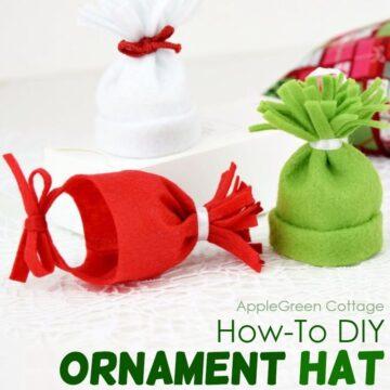 ornament hat diy