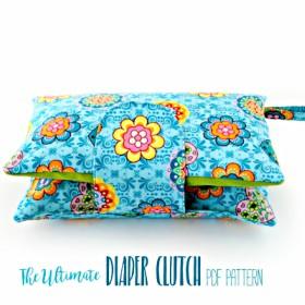 The Ultimate Diaper Clutch Pattern