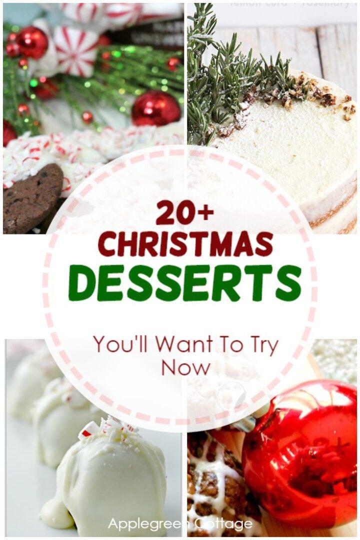 20+ Christmas Desserts You'll Love