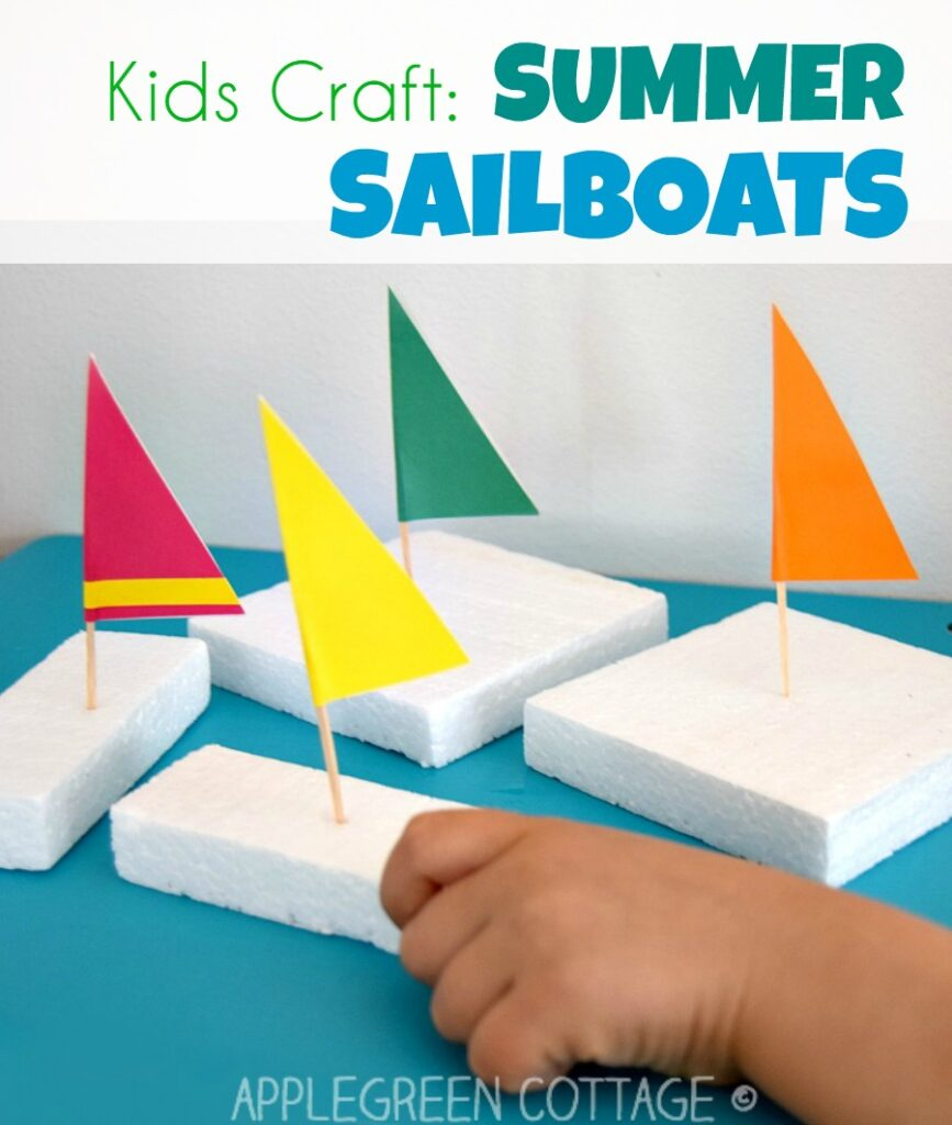 Sailboat Crafts For Kids