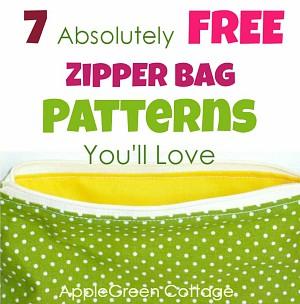 Free Zipper Bag Patterns