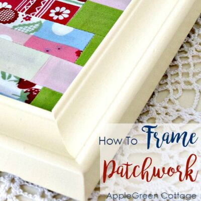 how to frame patchwork
