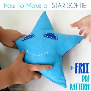 Easy Star Pillow Softie