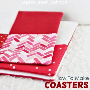 how to make coasters