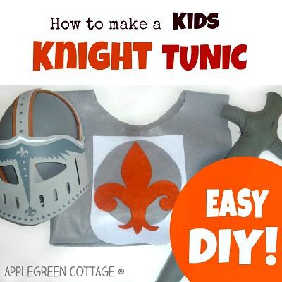 Easy DIY Kids Knight Costume Tutorial