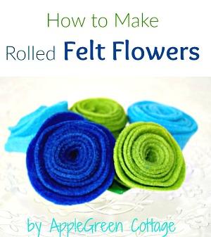 How to Make DIY Felt Flowers