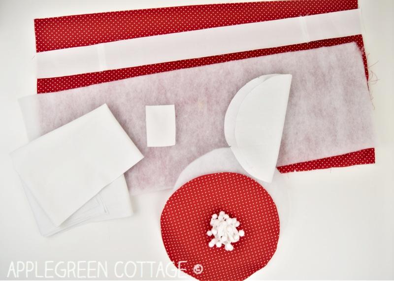 Santa bag sewing instructions