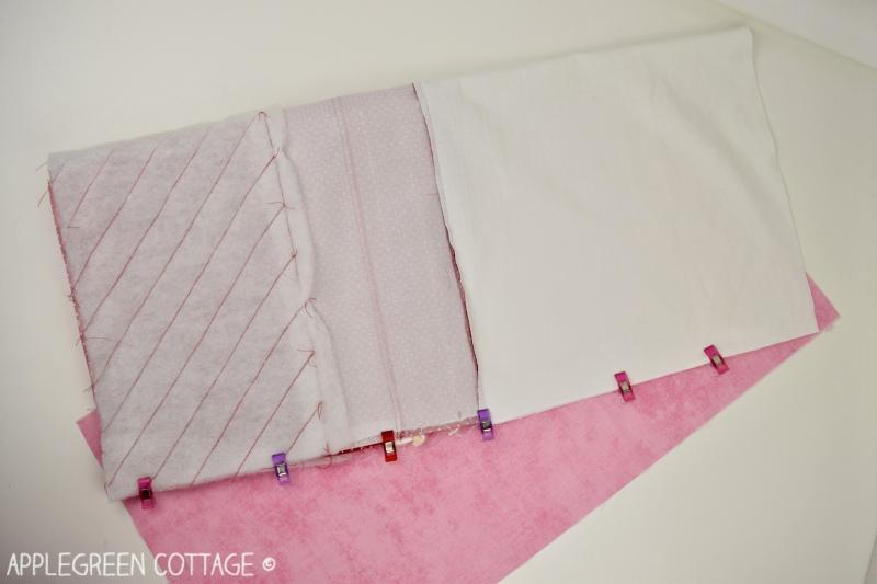 Santa sack sewing