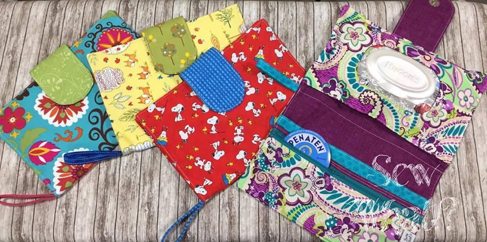popular diaper bag clutches sewn with ultimate diaper clutch pattern